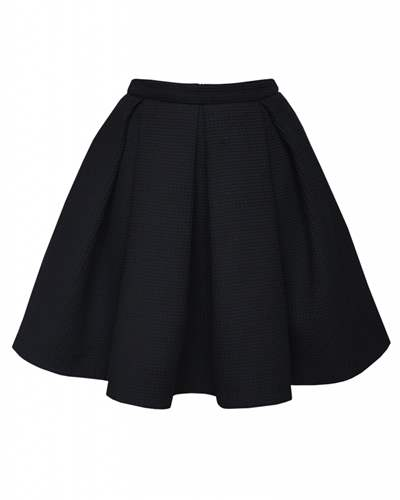 Tailoring - A straight skirt with a lining